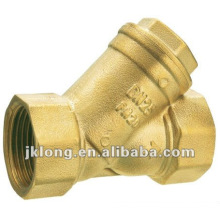J5006 y type forged brass Strainer water filter in China