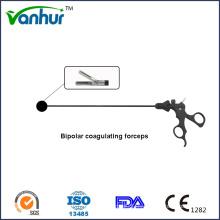 Instrumentos laparoscópicos Pinzas atraumáticas bipolares