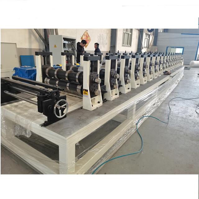 Three Wave Guadrail Rail Plate Machine 2
