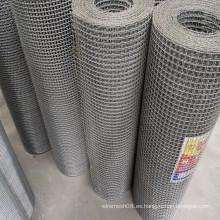 Malla de alambre de hierro prensado galvanizado