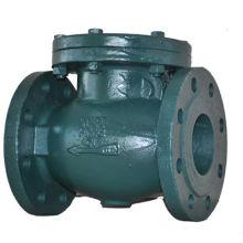 Обратный клапан для фланцевого типа с металлическим седлом