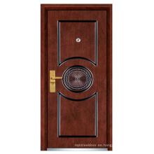 Puerta de madera de acero (FXGM-B207)