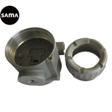 Précision en acier de corps de valve d'écoulement, investissement, bâti perdu de cire