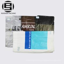 Bolsa de compras troquelada reforzada del regalo del HDPE de la manija del corte