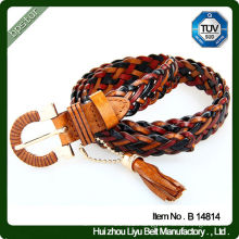 Fashion Girls Tassels Braided Rope Belt With Good Price