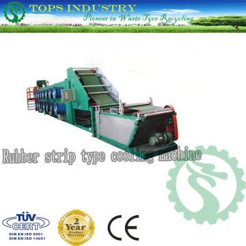 Máquina de refrigeración de tipo de cinta de caucho (tops-600)