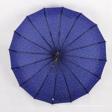 A17 paraguas recto automático abrir y cerrar paraguas