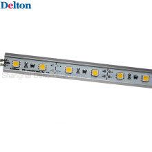 Constant DC24V triângulo barra de luz LED com perfil de alumínio