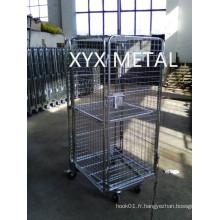 Cage à rouleaux à quatre côtés