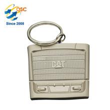 Llavero de encargo del metal de la marca de fábrica del logotipo promocional de encargo de alta calidad