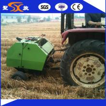 Traktor Aufhängung Landwirtschaftliche Gras / Stroh Mini Rundballenpresse