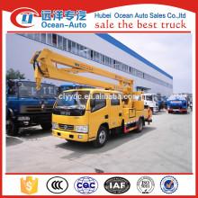 Camion de plate-forme de travail aérien 14M Dongfeng