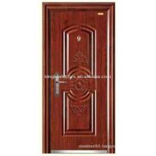 Steel Exterior Stainless Steel Security Door KKD-574 Steel Residential Door