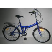 """Bicicleta plegable de acero de 24 """"(FJ246)"""
