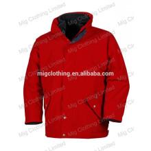 Waterproof jacket with fleece lining