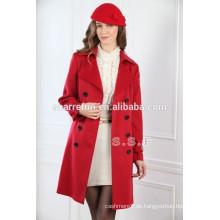 2014-2015 Luxus 100% reine Kaschmir Mäntel für Frauen (450g / qm)