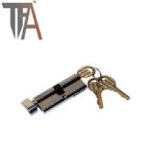 Cilindro de fecho aberto de um lado --- Fechadura da porta