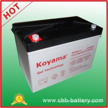China Factory Outlet 12V 90ah Gel Battery Np90-12