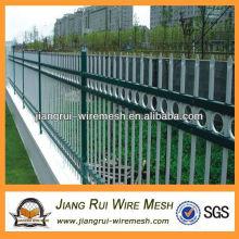 Parque e sala de fronteira área de zinco aço guardrail (fabricante da China)