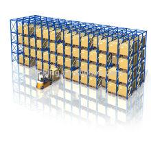 Warehousing und Distribution Europa, Jacking Ware, hohe Dichte Ebay-Laufwerk obwohl Palettenregalanlage