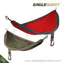 Outdoors Nylon Hammock (with Straps on Pouch)