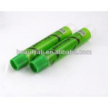 Embalagem de alimentos tubo de plástico transparente