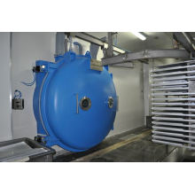low temperature drying parsley equipment- microwave vacuum dryer with rotary tray