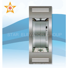Elevador de vidro com elevador de vidro