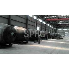 Linha de produção de tanque de cimento agitado / equipamento de fabricação de tanques de cimento