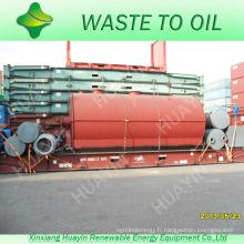 Depuis 1993 Faire de cette entreprise Machine de distillation de pétrole brut Utilisation de brûleurs à mazout