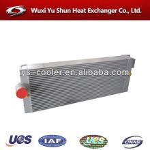High performance plate-forme et barre d'échangeur de chaleur air-air en aluminium