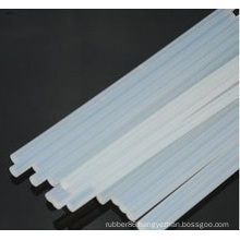 Soft Extruded Transparent/Clear Silicone Rubber Rods