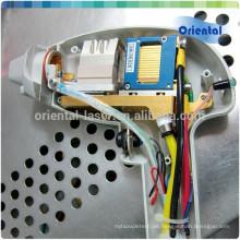 Professionelle Diodenlaser-Griffstückreparatur mit importierten Gremany-Stäben