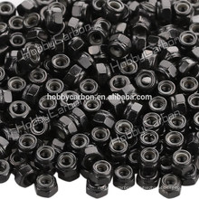 M3 *5.5 good quality stainless steel Hex Nylon locknut