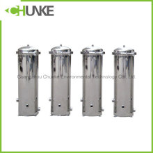 Industrielles Flansch-Edelstahl-pp. Patronen-Filter-Gehäuse für Wasser