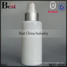 100ml milky white ceramic bottle for lotion, empty packaging bottles, skin care 40ml cosmetic bottle