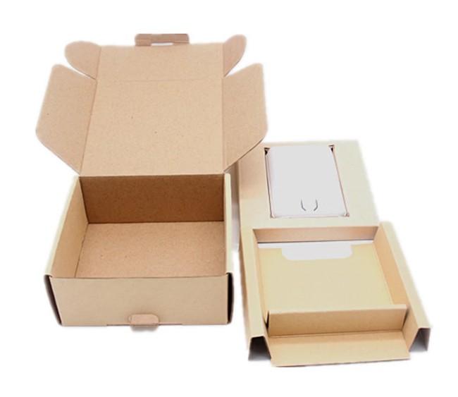Kraft Flat Box