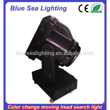 GuangZhou 4/5/7/10KW heavy duty searchlight color changeable moving head