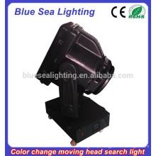 GuangZhou 4/5/7 / 10KW pesados searchlight cor mudável cabeça móvel