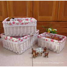 (BC-WB1024) High Quality Handmade Natural Willow Basket/Gift Basket