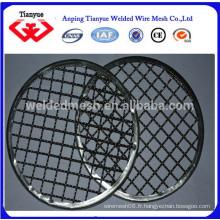 Grillage métallique en acier inoxydable pour rôti
