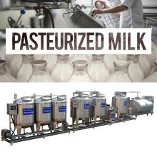 Complete Liquid Milk Yogurt Processing Line Equipments
