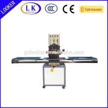 selagem de alta freqüência e máquina de corte para estampagem de couro