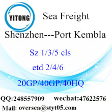 深セン港海貨物輸送のポートケンブラに