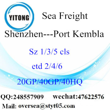 Shenzhen Port Seefracht Versand in Port Kembla