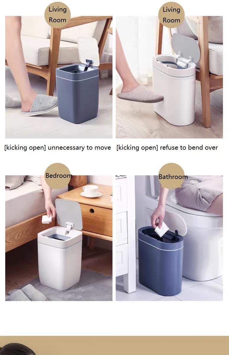 Smart Sensor Trash Bin