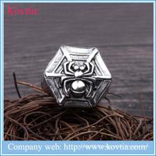 Nouveau anneau en forme d'araignée en acier inoxydable 2016 en acier inoxydable en acier titane en acier