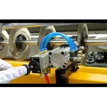 Máquina de corte automatizada de la tela del PLC
