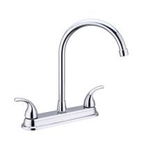 New design wholesale taps dual handle mixers, OEM design faucet basin tap, basin faucet bathroom