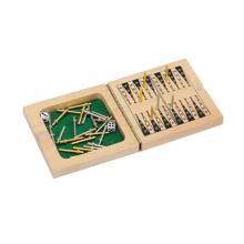 Juego de mesa de madera de ajedrez y de backgammon (CB1170-1)